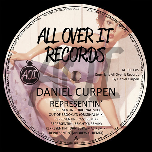 Daniel Curpen - Representin' (Andrew C. Remix) SAMPLE [All Over It Records UK] OUT NOW !!