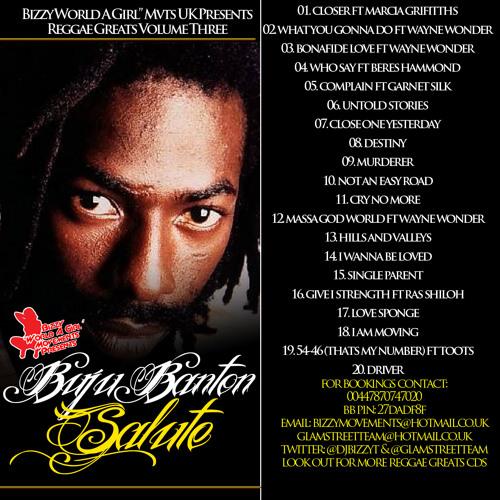 Buju Banton Salute - Reggae Greats Vol 3 [Bizzy World A Girl Mvts]