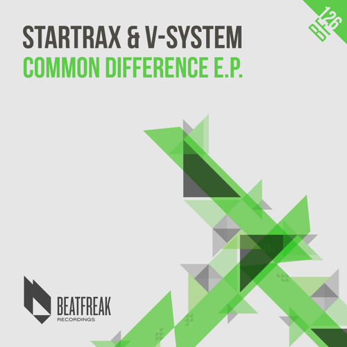Startrax & V-System - Common Difference EP