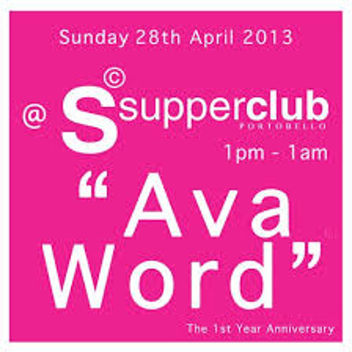 Gavin Peters Live @  Ava Word™ The 1st Year Anniversary @Supperclub