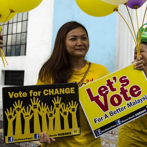 Malaysia's social media election