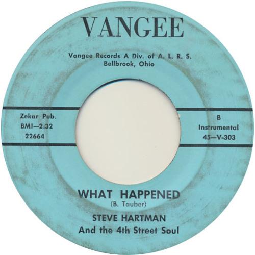 Steve Hartman & the 4th street soul 'What happened'