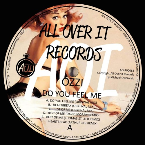 Ozzi - Best Of Me [David Moran Remix] (**OUT NOW on All Over It Records)
