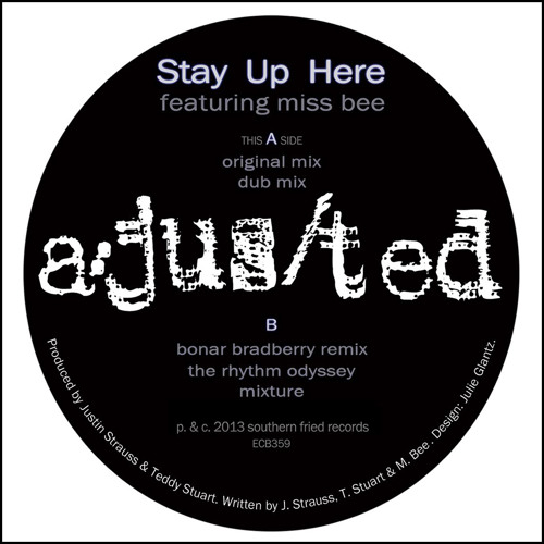 a/jus/ted feat. Miss Bee - Stay Up Here (Dub)