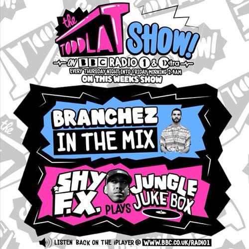 Branchez Mix: The Toddla T Show BBC Radio 1 & 1Xtra