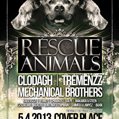 Mechanical brothers (dani dj set) @ rescue animals, cover place, Praga, CZ 05 04 13