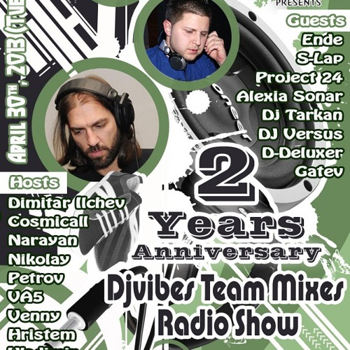 S-lap Guest Mix for 2 Years Djvibes Team Mixes (30.04.2013)