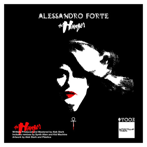 """IT-003. Alessandro Forte, The Hunger EP (12"""")."""