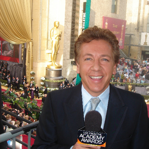 Maritza interviews TV presenter Ross King