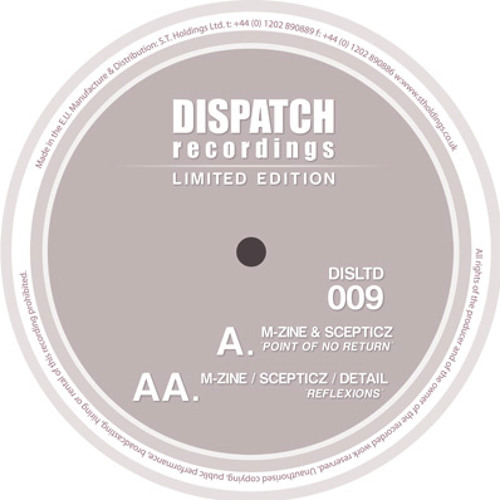 M-zine, Scepticz & Detail - Reflexions - Dispatch LTD (CLIP) - AVAILABLE TO PRE-ORDER NOW