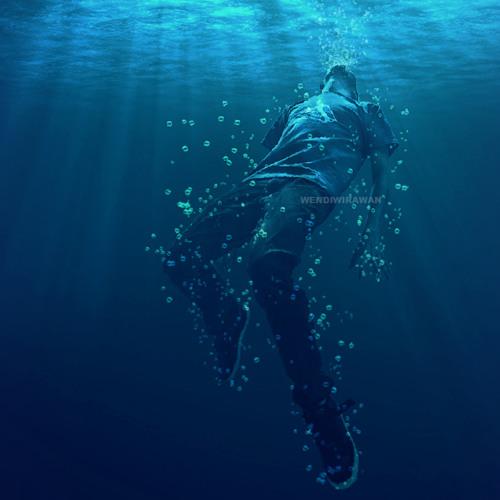 Something like drowning