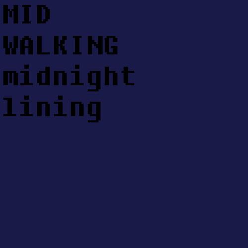 Mid walking- Midnight Lining
