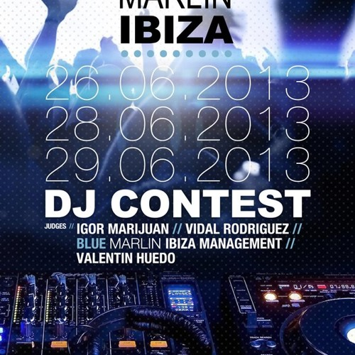 BLUE MARLIN IBIZA DJ CONTEST 2013 - DJ KEN PROMO MIX