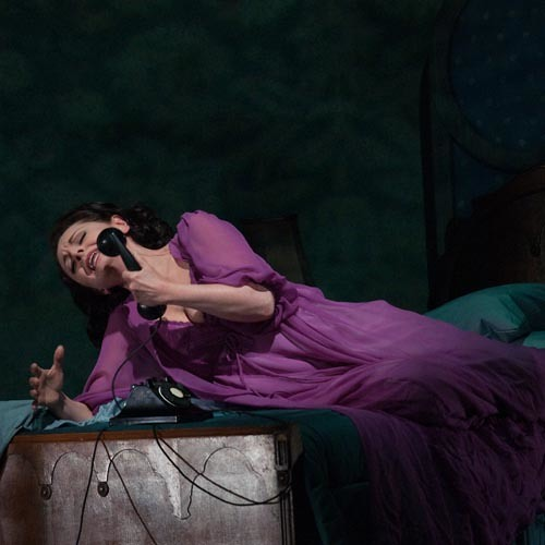"Seattle Opera ""La Voix Humaine"" with Nuccia Focile"