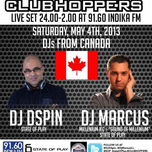 CLUBHOPPERS - IndikaFM 91.60 - Live Set - 05-05-2013-00-01am