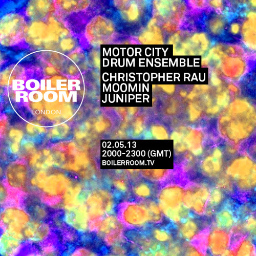 Motor City Drum Ensemble Boiler Room London DJ Set