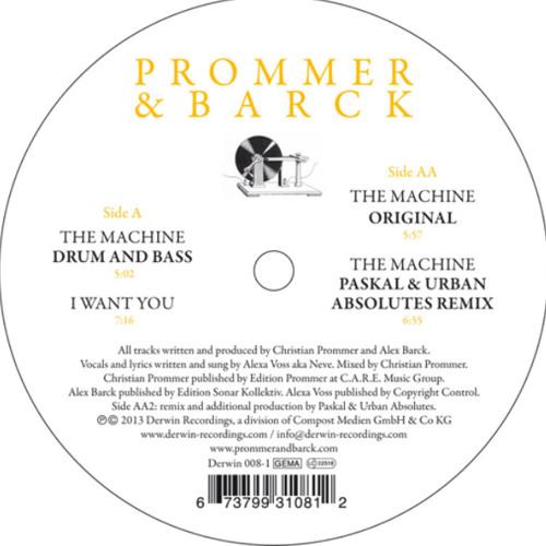 Prommer & Barck - The Machine (Paskal & Urban AbsolutesRemix)