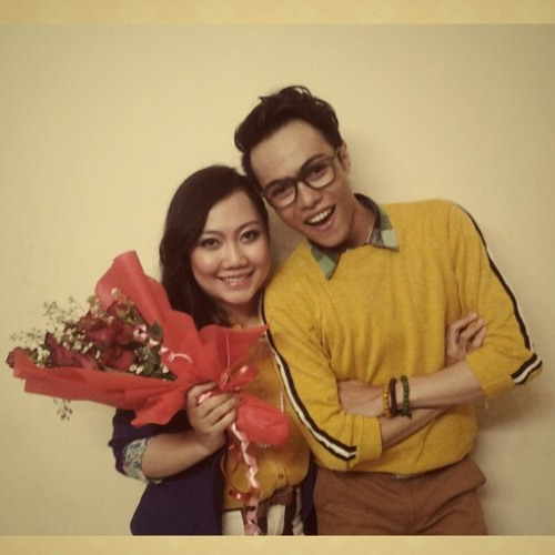 Lucky (Jason Mraz feat. Colbie Caillat) - Covered by @indraindor feat. @luginiagia
