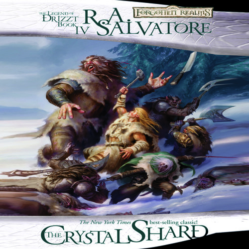 The Crystal Shard by R  A  Salvatore, Narrated by Victor Bevine by