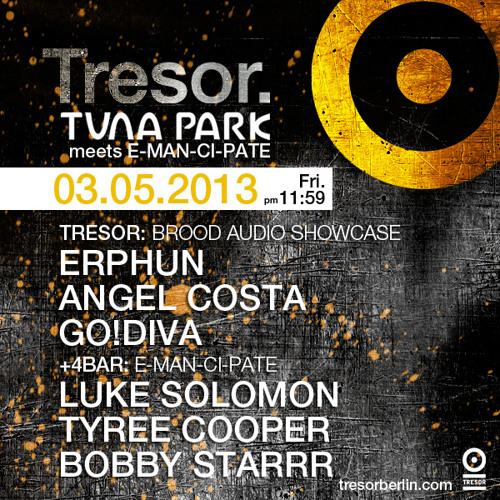 GO!DIVA @ Brood Nights, Tresor, Berlin, 03-05-2013