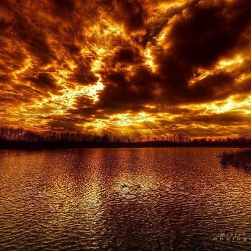 Burning sky [instrumental]