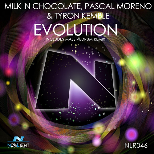Milk 'N Chocolate, Pascal Moreno & Tyron Kemble - Evolution (Massivedrum Remix) - OUT 12th May