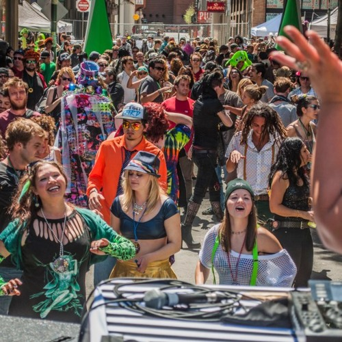 Khromata - How Weird Street Faire 2013 - Full-on Psytrance DJ Mix