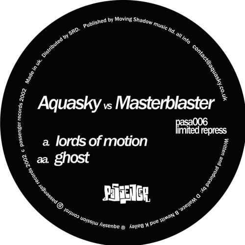 Aquasky Vs. Masterblaster 'Lords Of Motion' - PASA006 - 2001