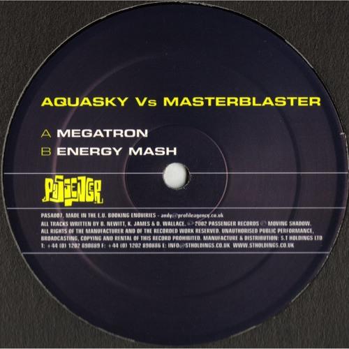 Aquasky Vs. Masterblaster 'Energy Mash' - PASA007 - 2002