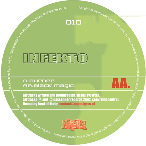 Infekto 'Black Magic' - PASA010 - 2002