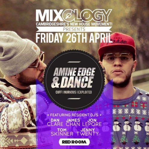 2013.04.26 - Amine Edge & DANCE @ Mixology - Redroom, Peterborough, UK