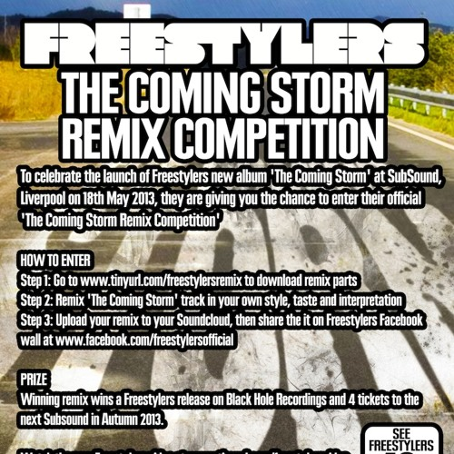 Freestylers 'The Coming Storm' Subsound Remix Competition