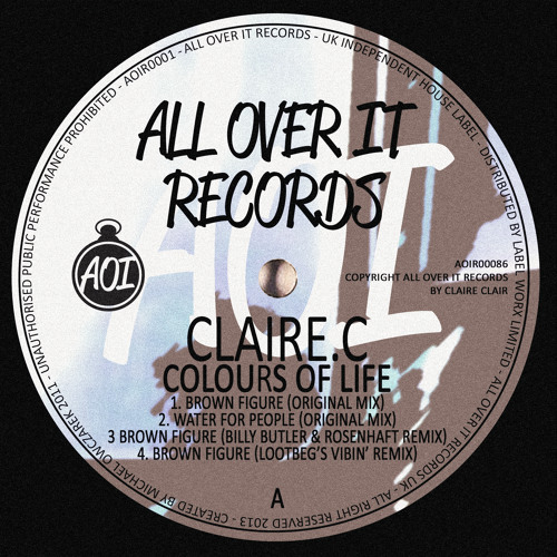 Claire.C - Water For People (preview) A2 [All Over It Records]
