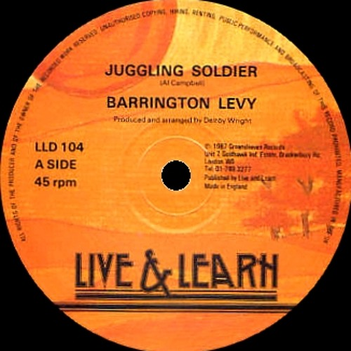BARRINGTON LEVY ~ Juggling Soldier