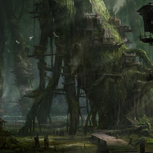 Stardiver-Lost forest 1(deep cave live acoustics mix)
