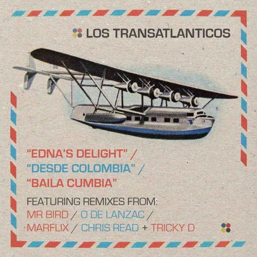 Los Transatlanticos - Edna-s Delight - Desde Colombia - Baila Cumbia - Remix EP - 08 - Baila Cumbia feat. Rosfriay Emerson Freyle -Chris Read-s Latin Concrete Dub-