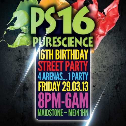 Pure Science 16 Goldie and MCGQ