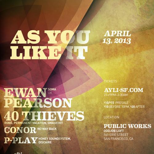 Ewan Pearson at AYLI 04.13.13