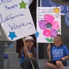 "Parents ""Stand for Children"" at State Capitol"