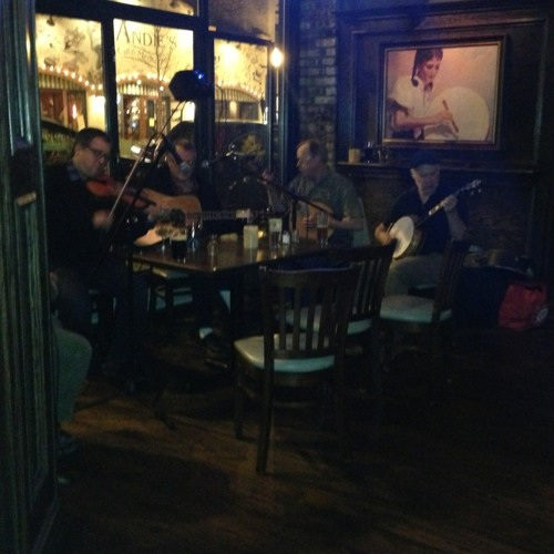 Live Irish Music at Lady Gregory's