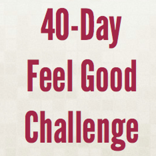 Spring 2013: 40-Day Feel Good Challenge, Call 4 w/ Sarah Seidelmann