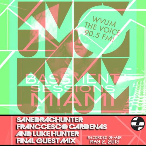SanedracHunter WVUM 90.5fm Bassment Sessions Final Guest Mix (May 2,2013)