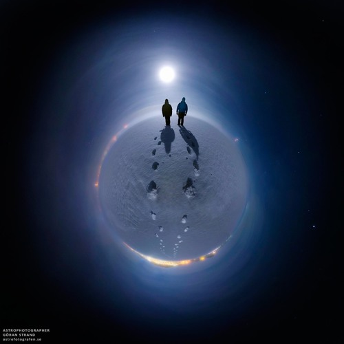 Dj Krowing - Travel on the Moon (Original mix)