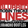 blurred lines - robin thicke ft. T.I., Parrell (JIRANDHO bootleg)