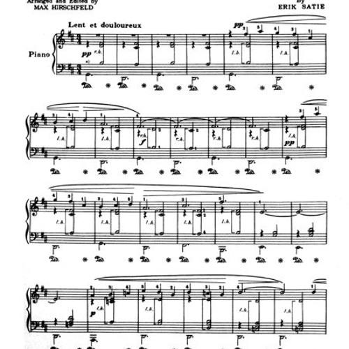 Gymnopedie No 1 - Satie