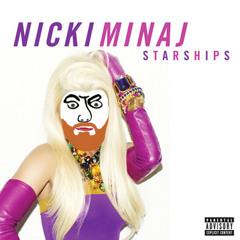 Nicki Minaj - Cover/Remix of starships
