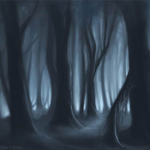 """A Tree"" (Ian Lurgee´s interpretation of The Cure - A Forest Simon Gallup´s bass)"