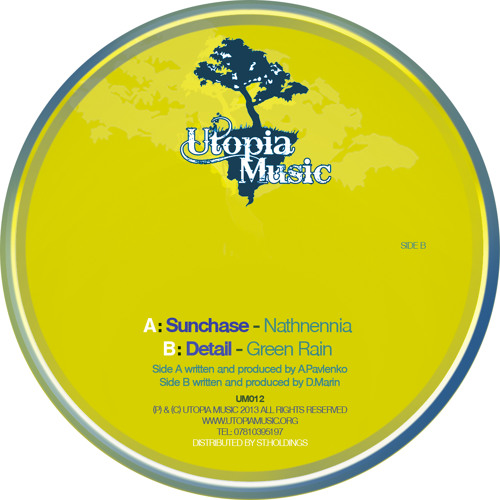 Sunchase - Nathnennia (Utopia Music 012A)