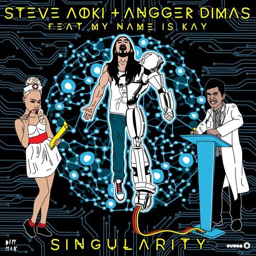 """PREVIEW: Steve Aoki & Angger Dimas ft. My Name Is Kay """"Singularity"""" (Tim Mason Remix)"""