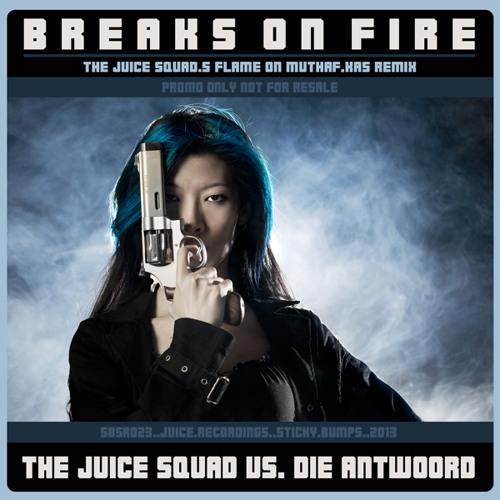 SBSR023, Breaks on Fire [TJS Flame on Muthaf.ckas Remix]
